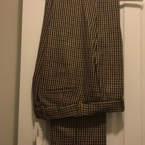 Tweed trousers by J Crew